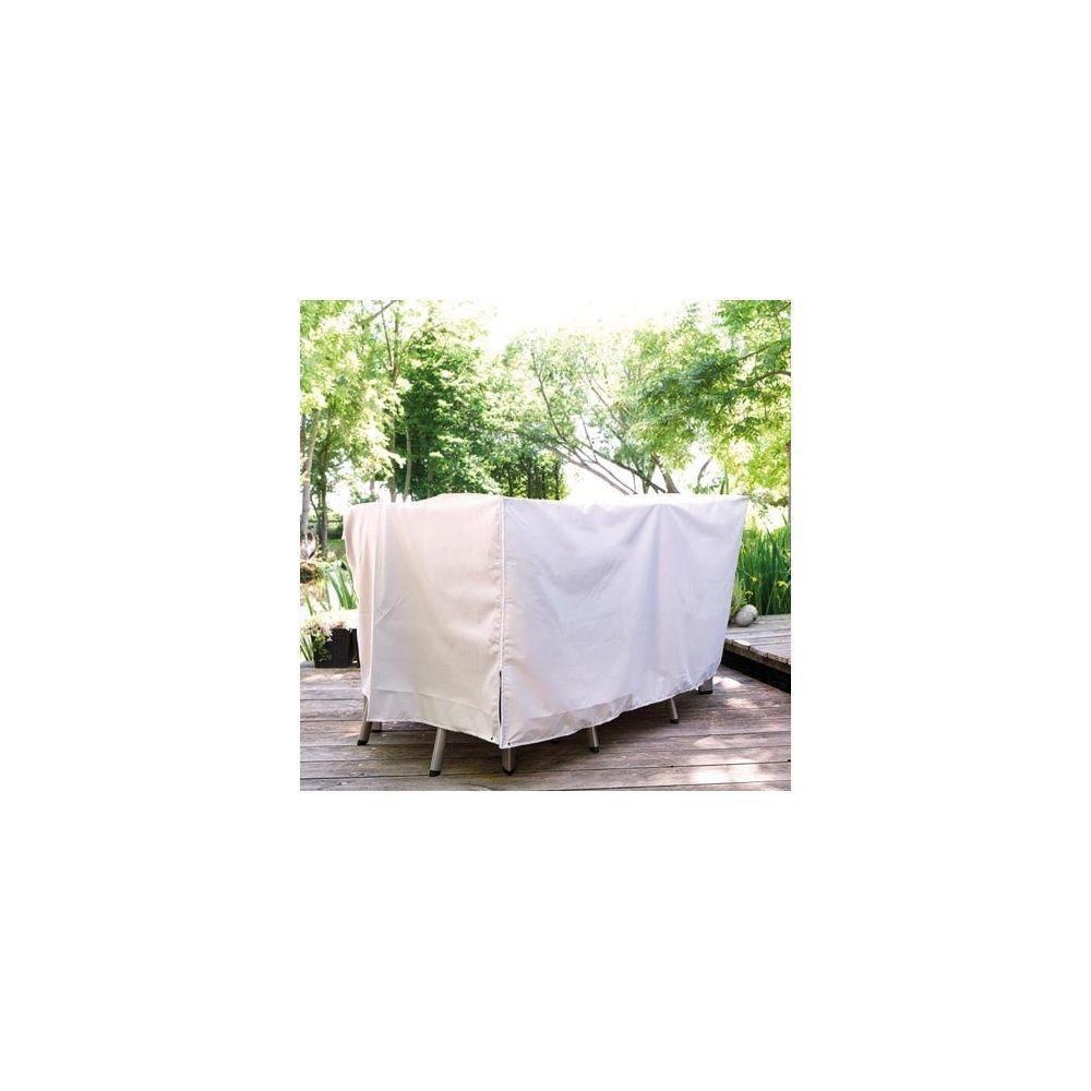 Housse de protection : table 160 x 95 cm + 6 fauteuils 1 colis 43 ...