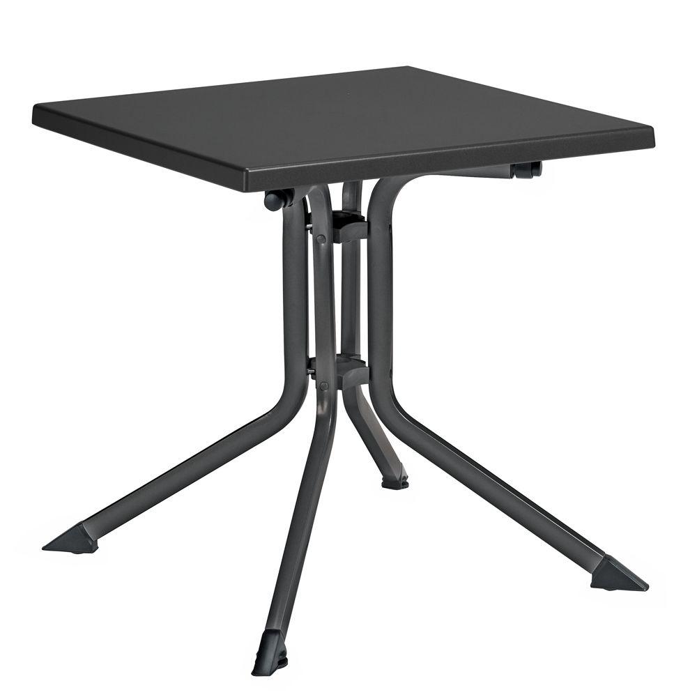 Table de jardin pliante résine Kettler L70 l70 cm