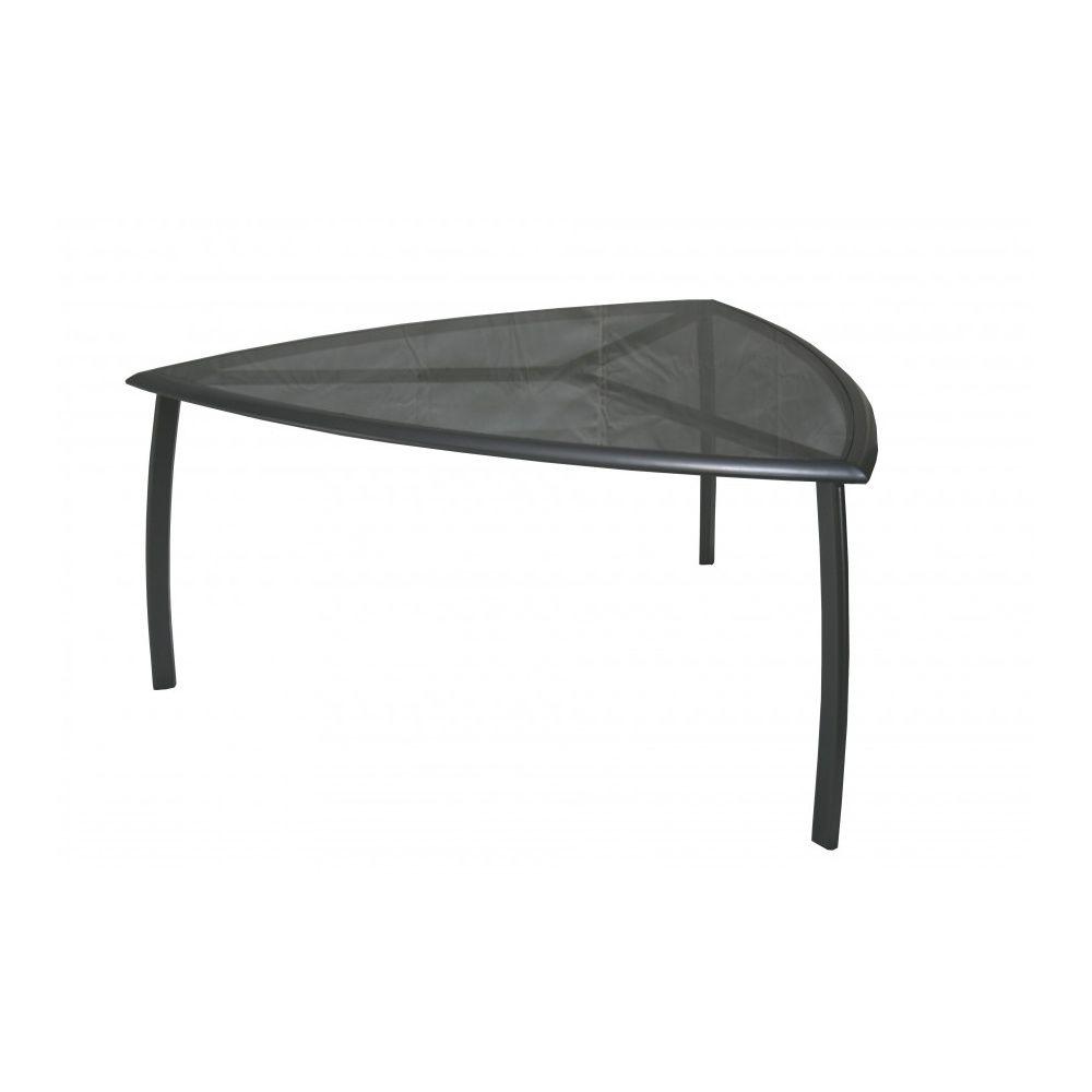 Table de jardin malaga aluminium l160 l160 cm anthracite gamm vert - Table jardin mosaique gamm vert ...