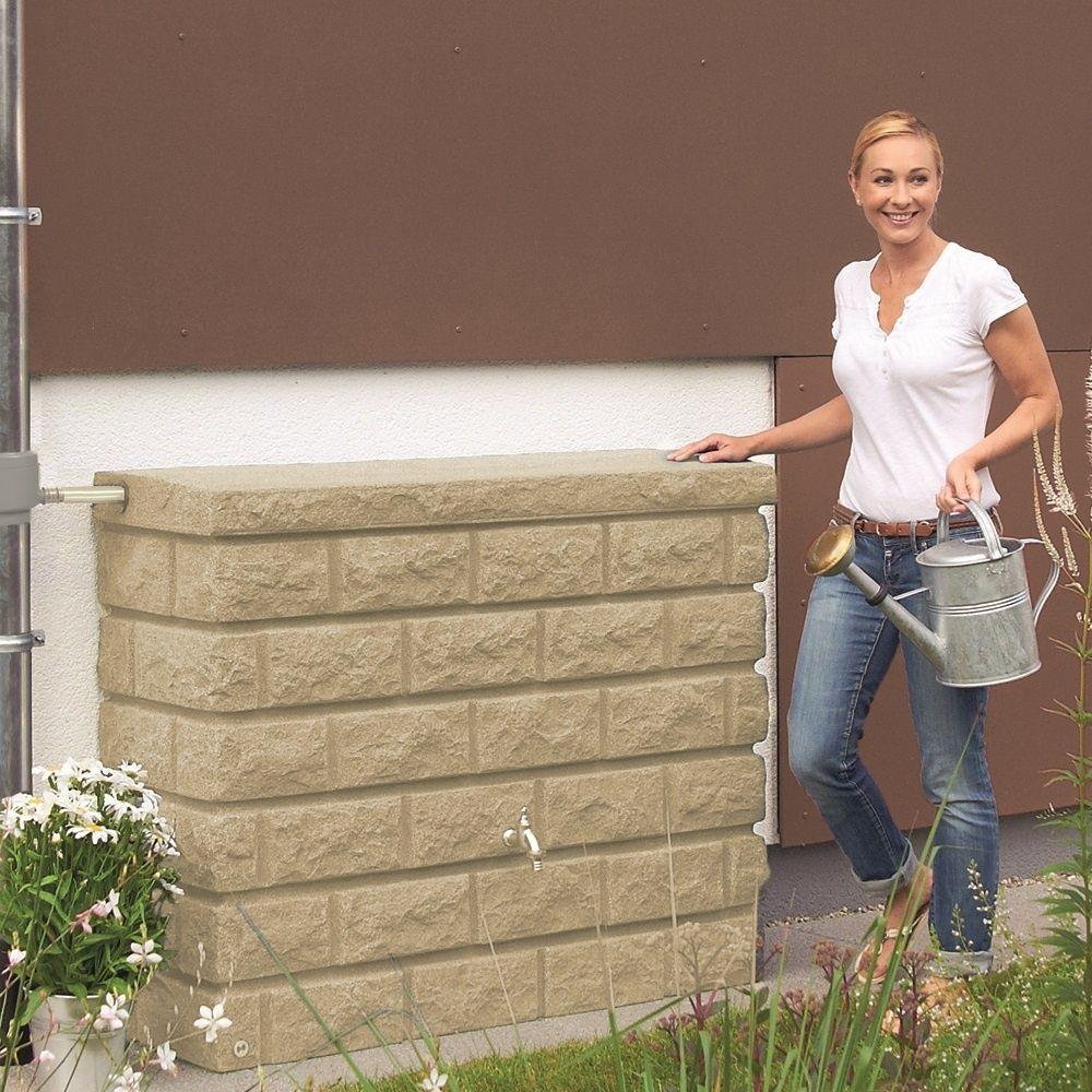 r cup rateur d 39 eau mural rocky sable 400l garantia palette gamm vert. Black Bedroom Furniture Sets. Home Design Ideas