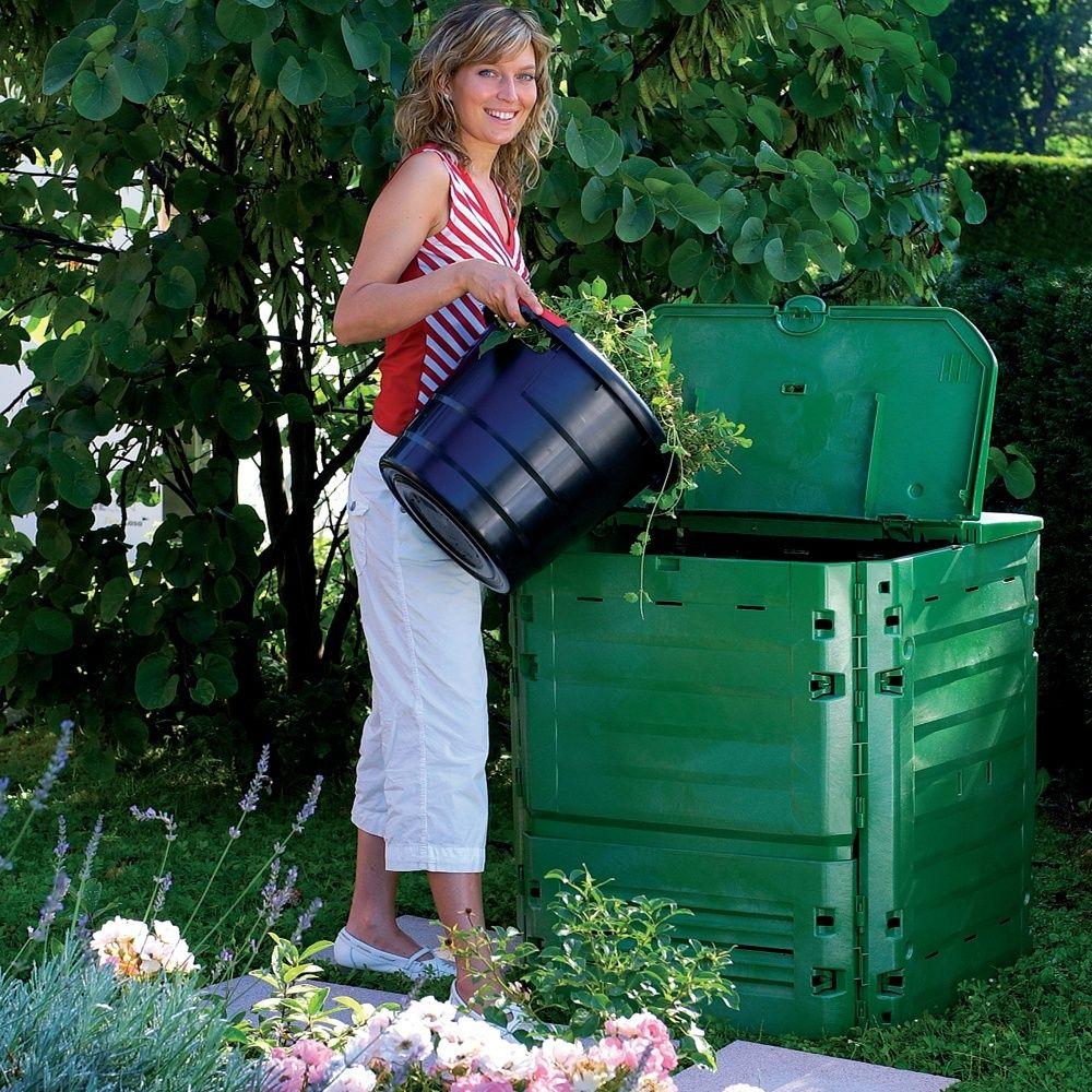 composteur thermo king vert 400l garantia palette gamm vert. Black Bedroom Furniture Sets. Home Design Ideas