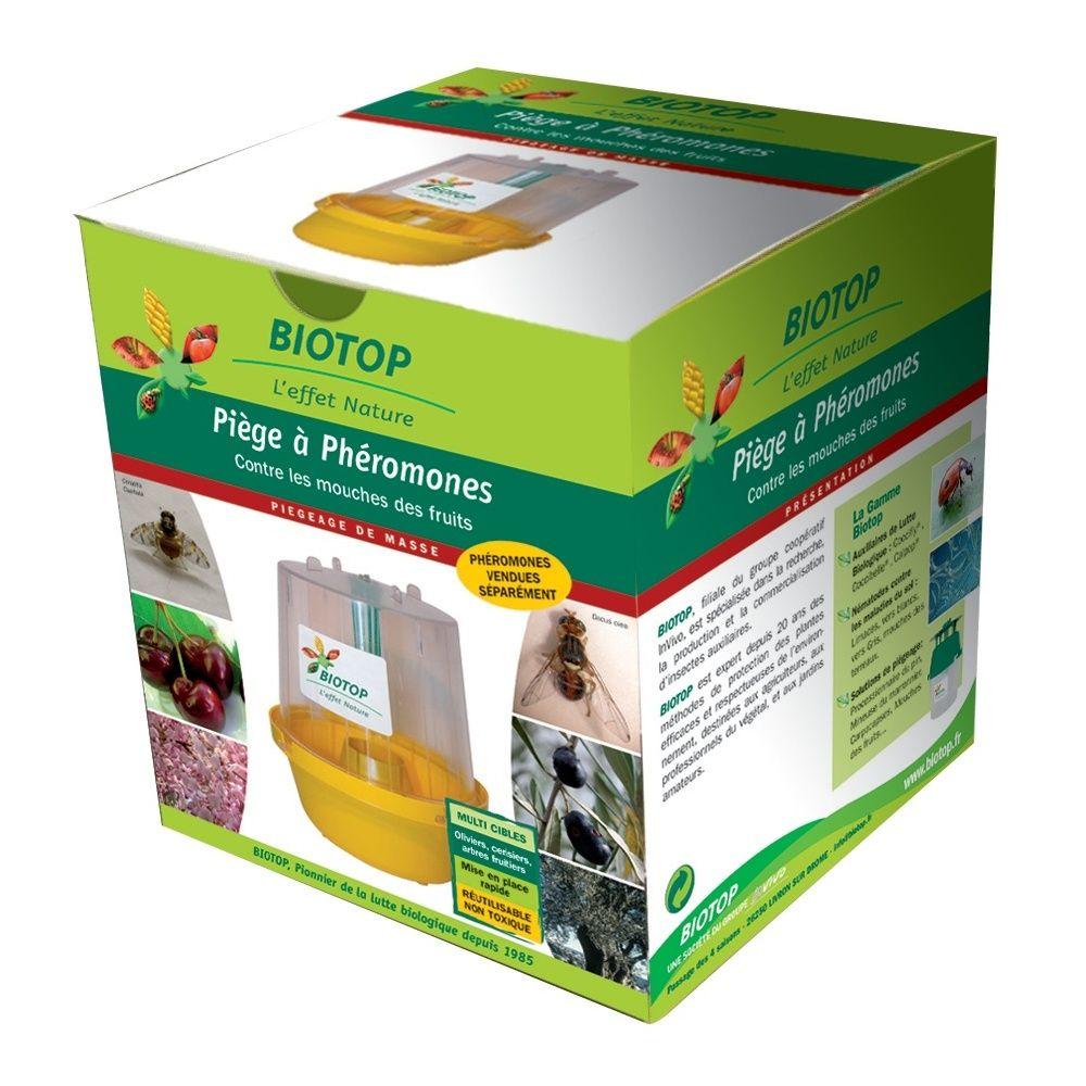 Piège mouches des fruits – Biotop