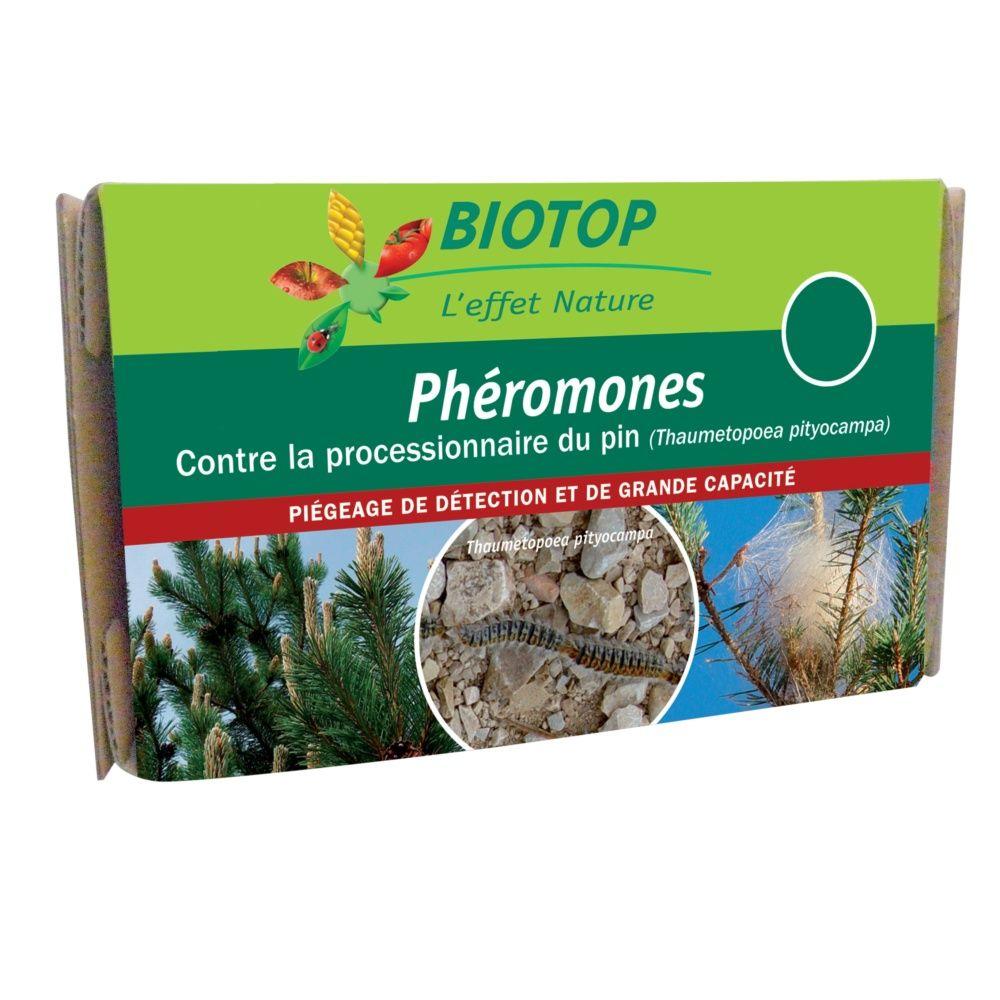 Phéromones processionnaire du pin (2 capsules) – Biotop