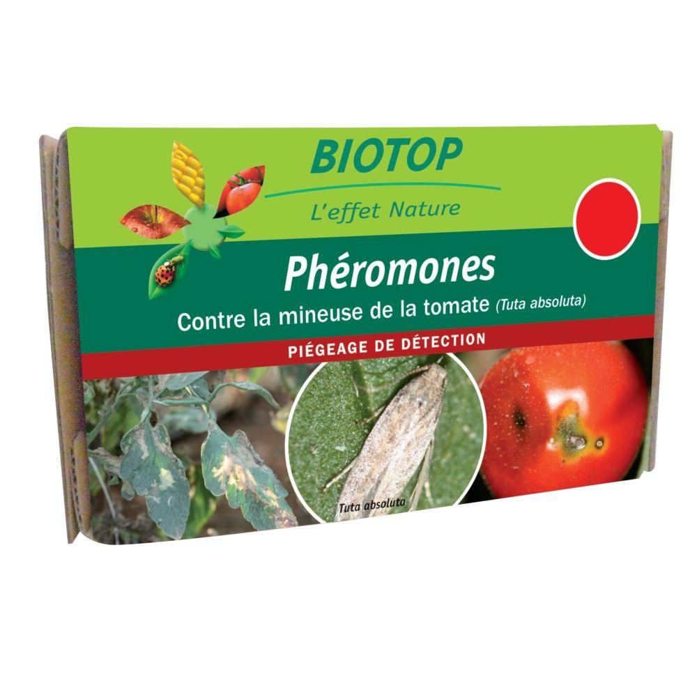 Phéromones mineuse de la tomate (2 capsules) Biotop