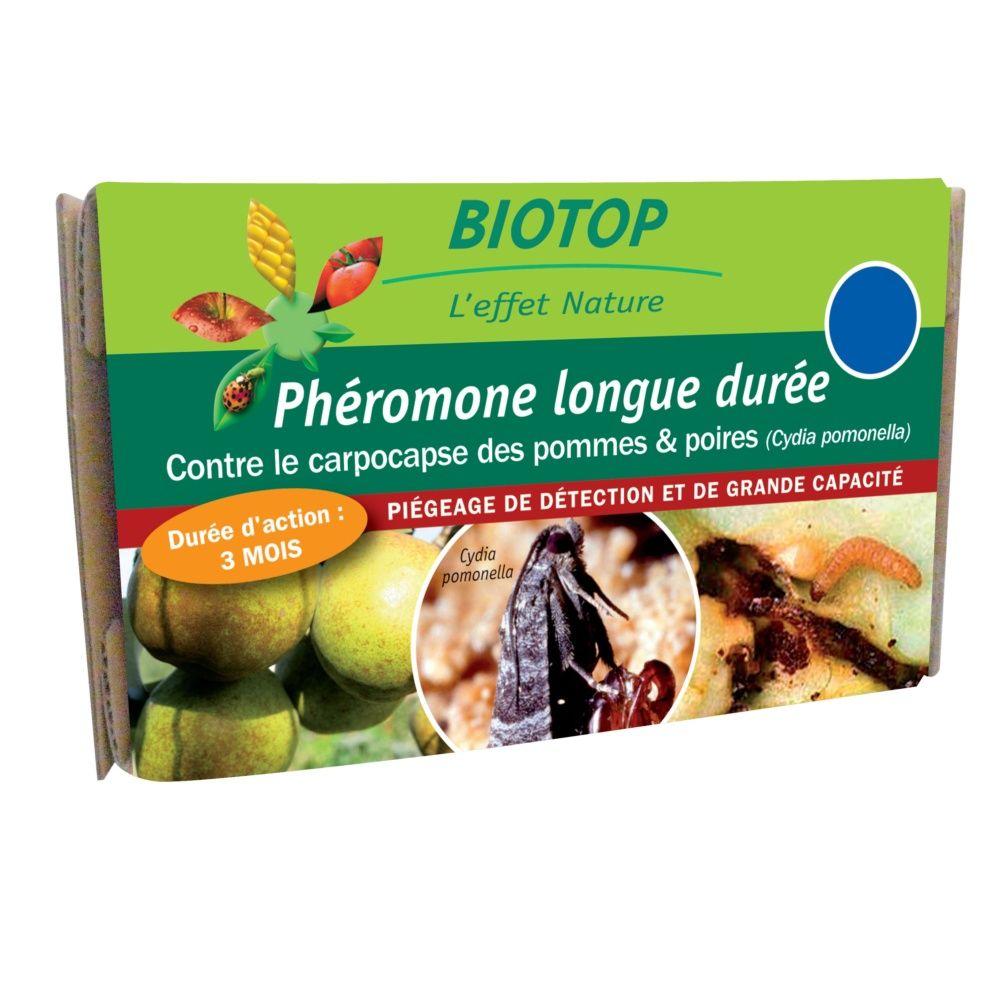 Phéromones longue durée carpocapse des pommes et des poires (1 capsule) Biotop