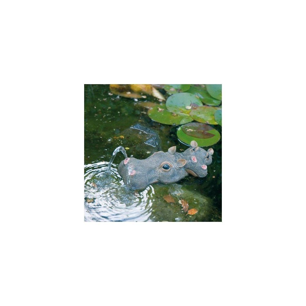 hippopotame pour d coration bassin ubbink carton gamm vert. Black Bedroom Furniture Sets. Home Design Ideas