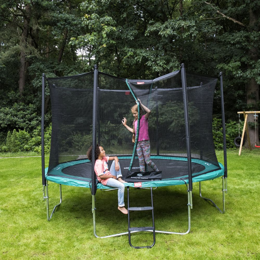 Trampoline Berg Favorit Green Ø270 + Filet de protection