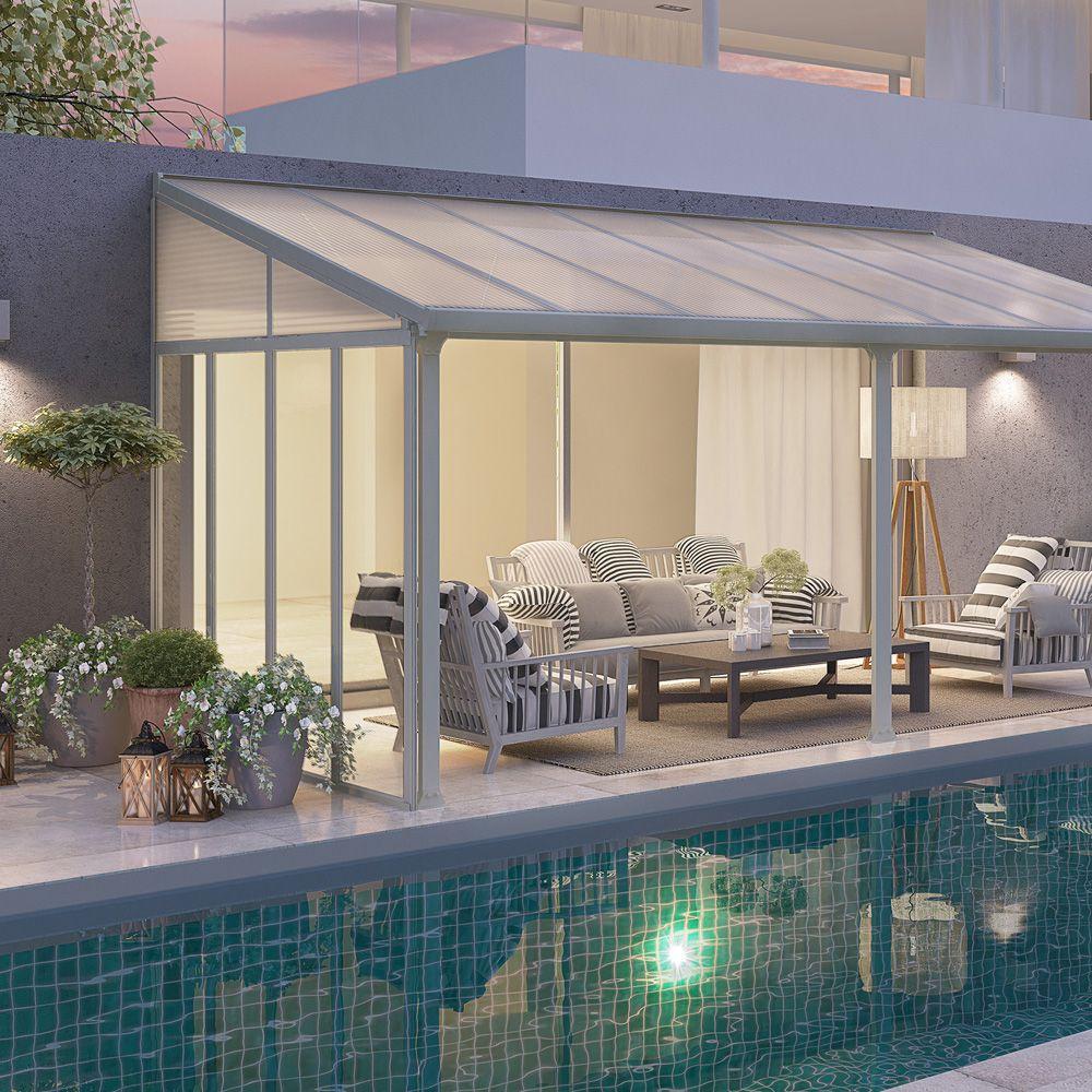 panneau lat ral pour toit terrasse aurore avanc e 3 m 1. Black Bedroom Furniture Sets. Home Design Ideas