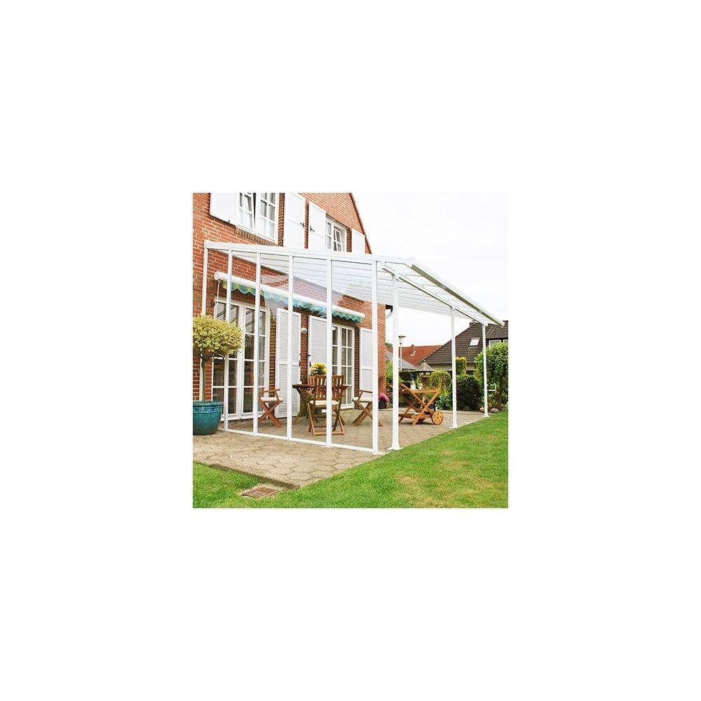 panneau lat ral pour toit terrasse aurore avanc e 3 m 1 carton de 290 x 64 x 10cm gamm vert. Black Bedroom Furniture Sets. Home Design Ideas