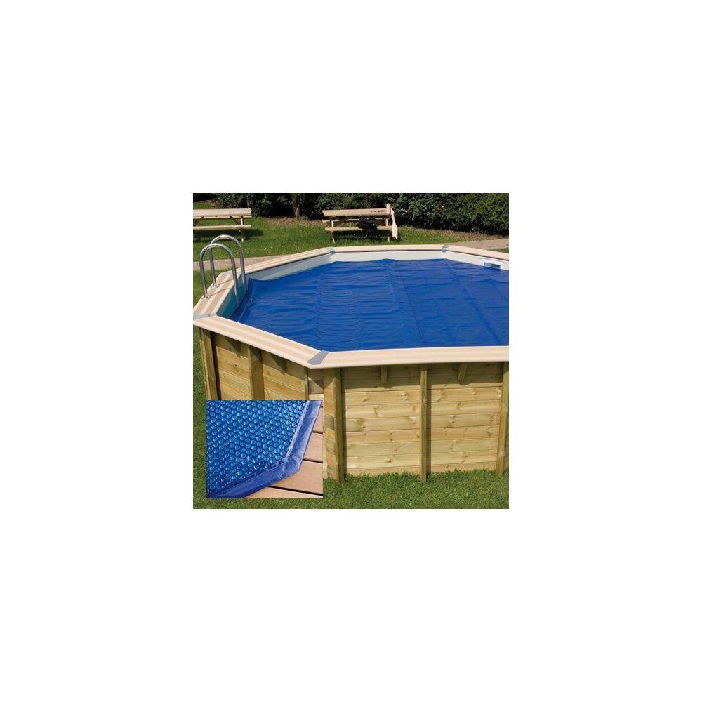 B che bulles bord e pour piscine octogonale 430cm 400 for Bache pour bassin exterieur gamm vert