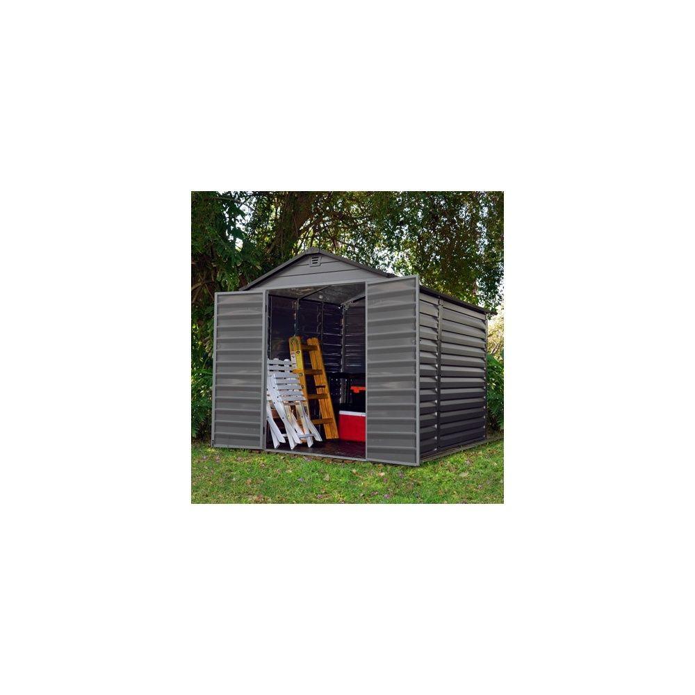 abri de jardin en r sine de polycarbonate 4 5 m2 skylight. Black Bedroom Furniture Sets. Home Design Ideas