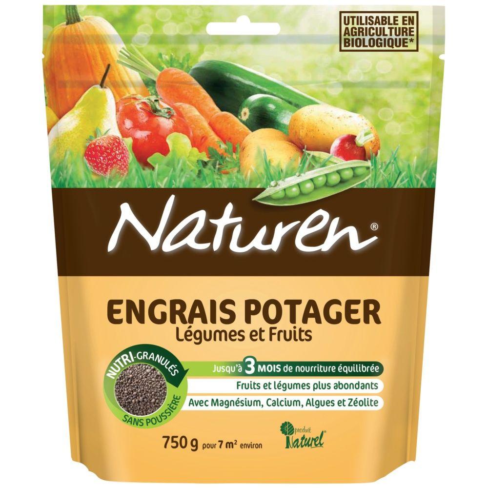 Engrais potager légumes et fruits 750g – Naturen