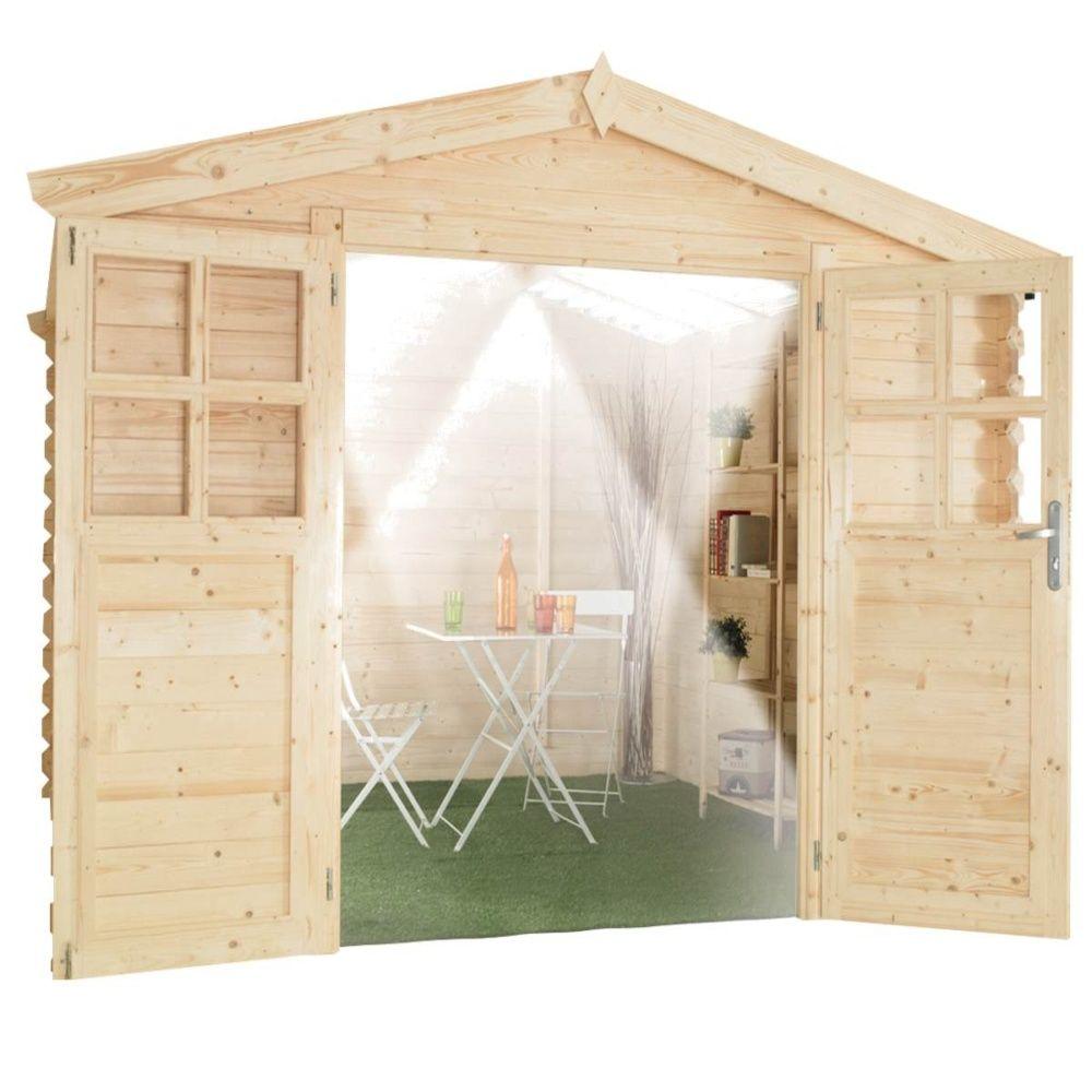 abri de jardin bois toit polycarbonate 12 52 m ep 28 mm soleil colis 405 x 120 x 43 cm. Black Bedroom Furniture Sets. Home Design Ideas