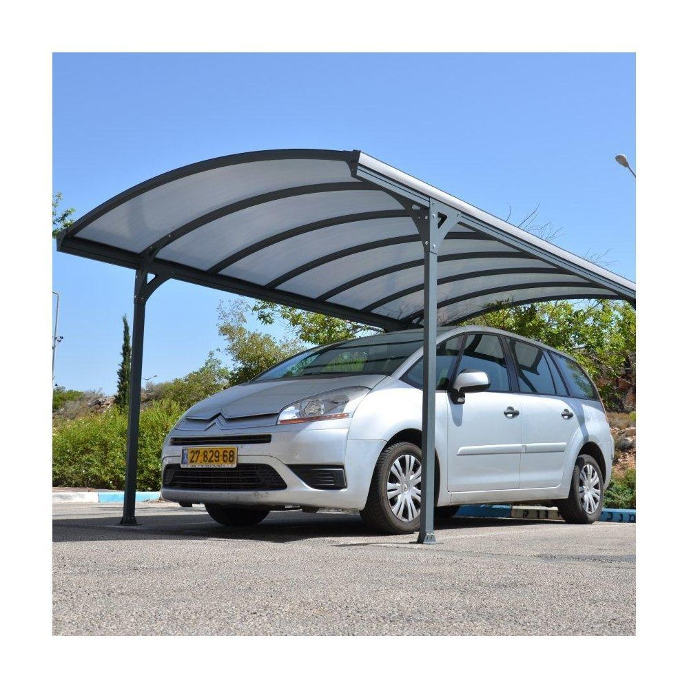 Carport delage 5000 en aluminium m carton 296 x for Victorian carport