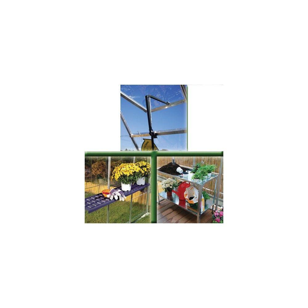 Pack accessoires pour serre palram carton gamm vert for Accessoires pour le jardin