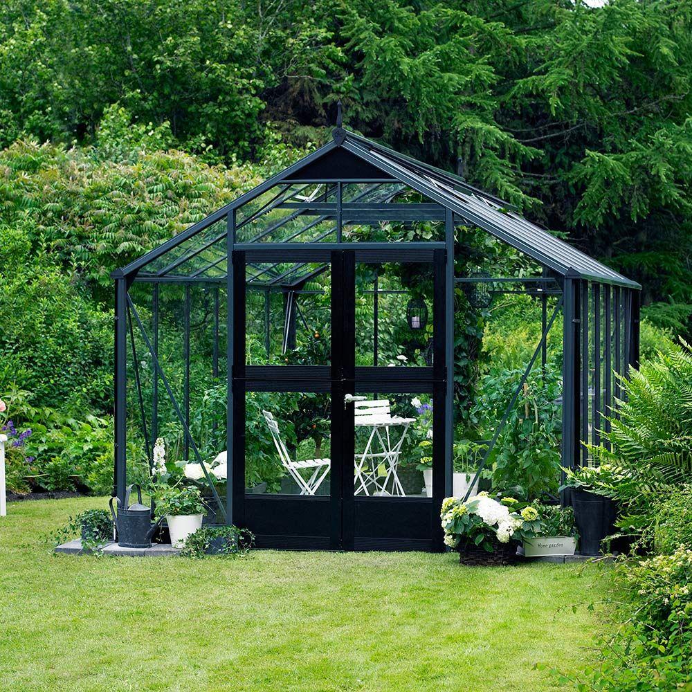 serre en verre tremp premium 13 m anthracite juliana palette merci de v rifier la. Black Bedroom Furniture Sets. Home Design Ideas