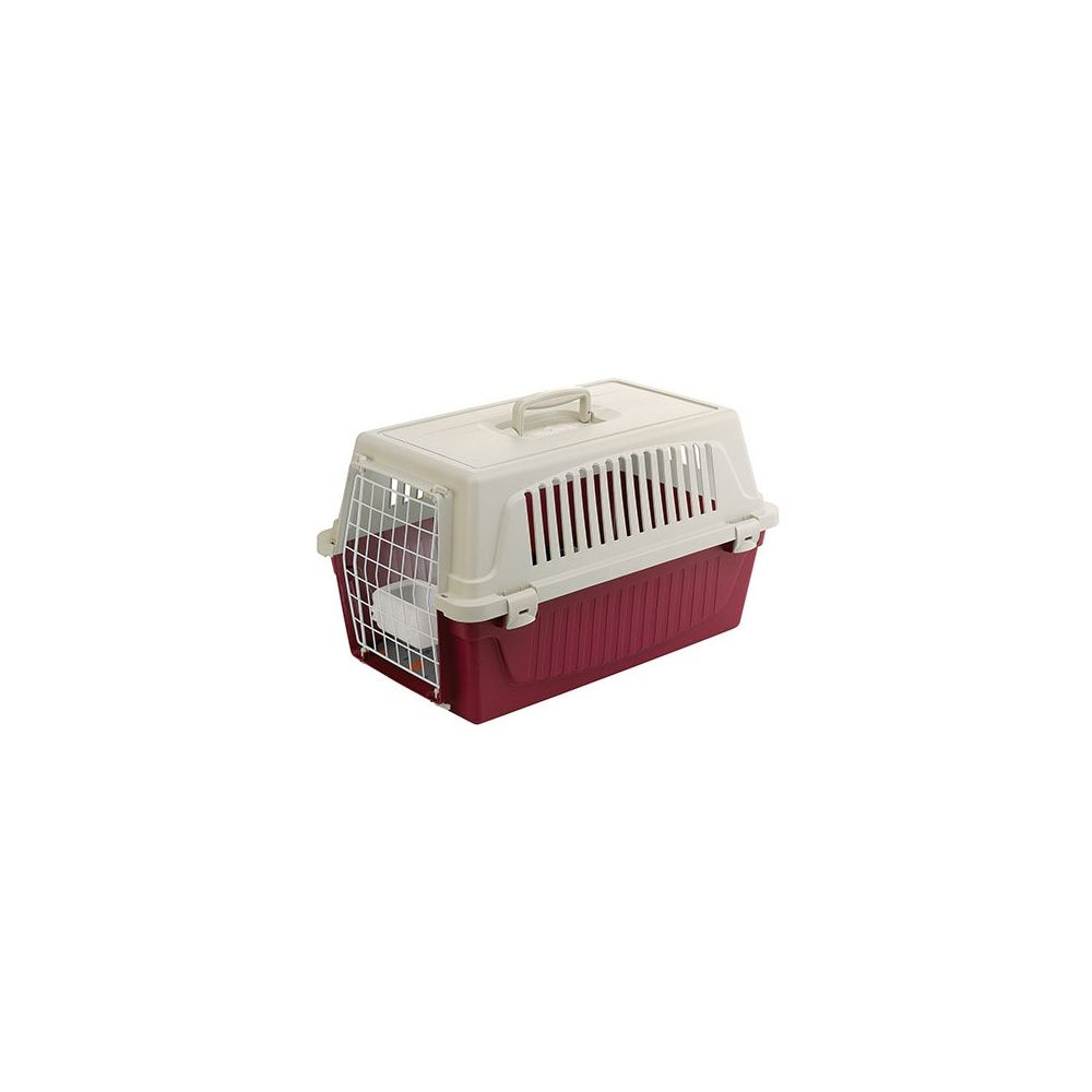 caisse de transport pour chien et chat atlas 20 avec coussin et abreuvoir sachet 59 8 x 38 4 x. Black Bedroom Furniture Sets. Home Design Ideas