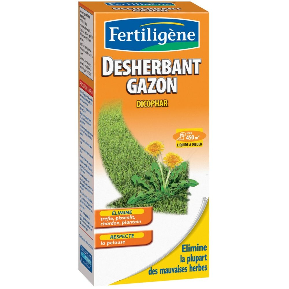 D sherbant gazon tui 450 ml fertilig ne carton gamm vert for Gazon artificiel gamm vert
