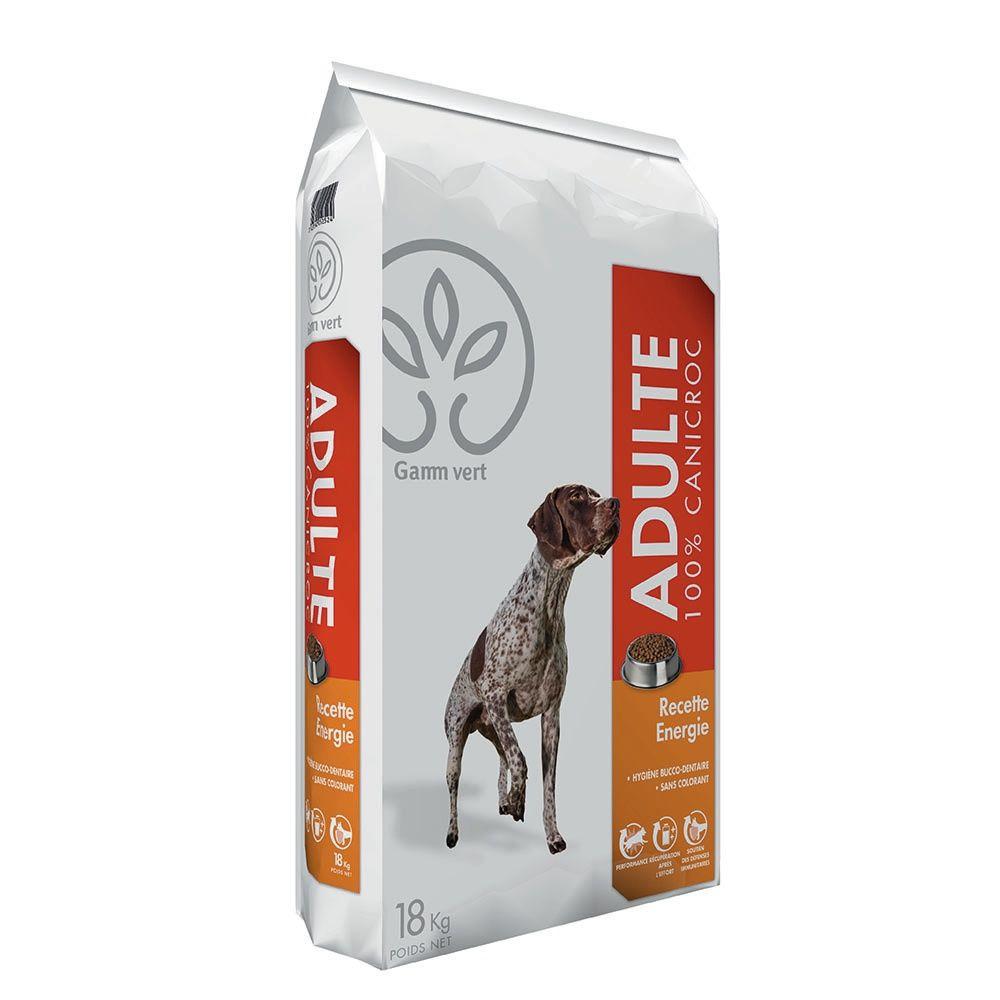 Croquettes pour chiens recette energie 18 kg gamm vert - Croquette pour chien fait maison ...