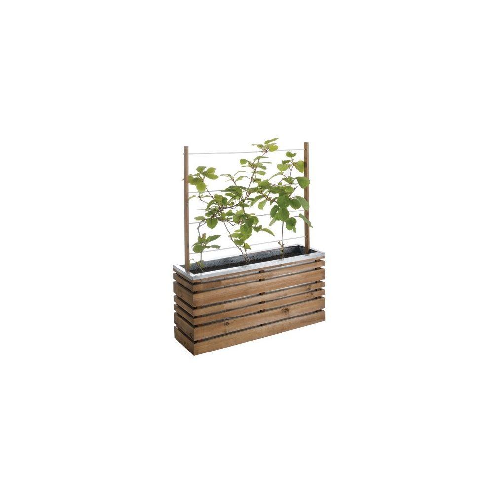 bac carr 100 avec treillis ligne z carton gamm vert. Black Bedroom Furniture Sets. Home Design Ideas