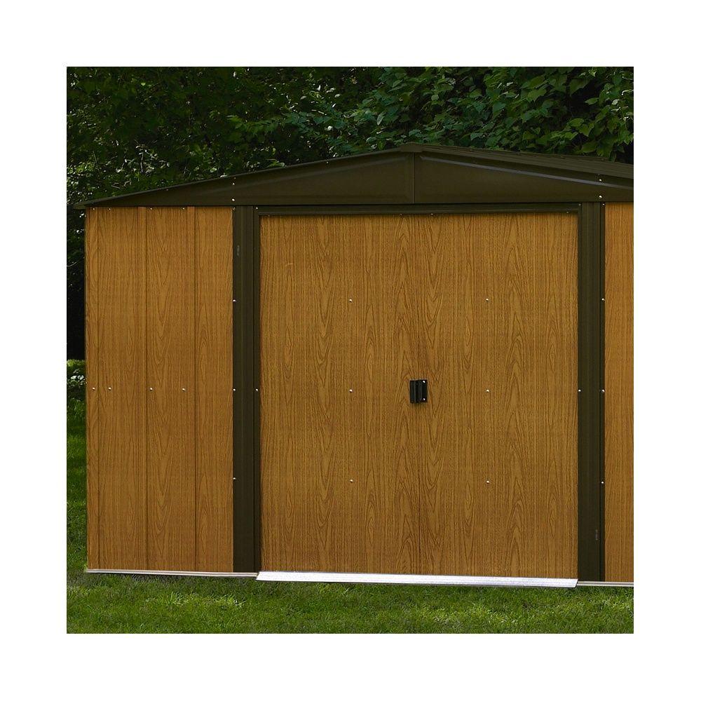abri de jardin m tal arrow m ep 0 22 mm colis 182 x 86 x 11 cm gamm vert. Black Bedroom Furniture Sets. Home Design Ideas