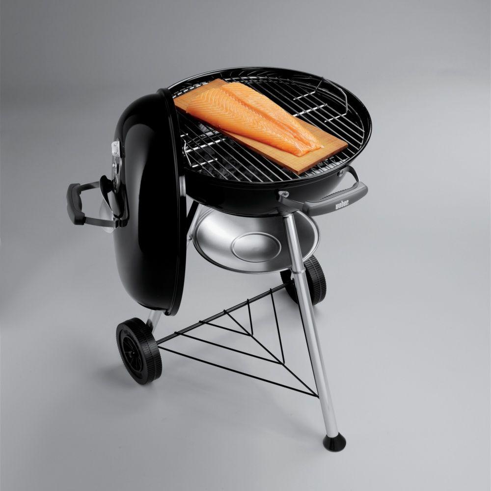 barbecue charbon weber compact kettle 47 cm noir carton. Black Bedroom Furniture Sets. Home Design Ideas