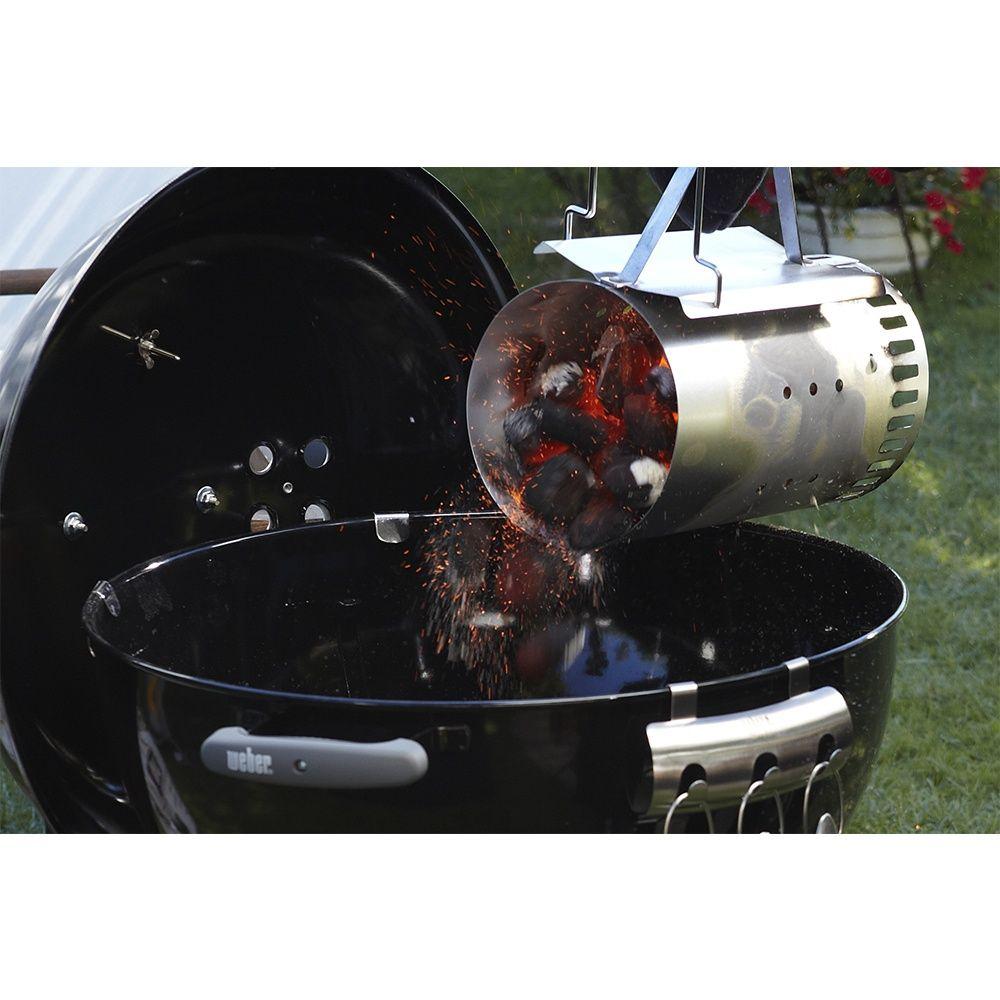kit cheminée d'allumage weber + 2kg briquettes + 6 cubes allume-feu