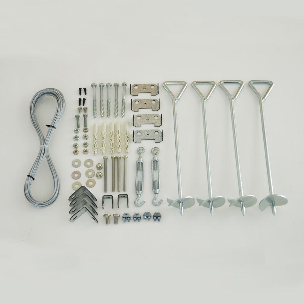 kit d 39 ancrage pour serres gamm vert. Black Bedroom Furniture Sets. Home Design Ideas