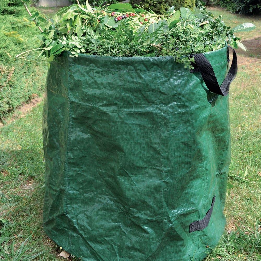 trendy sac dchet x cm l avec arceau et poignes gamm vert. Black Bedroom Furniture Sets. Home Design Ideas