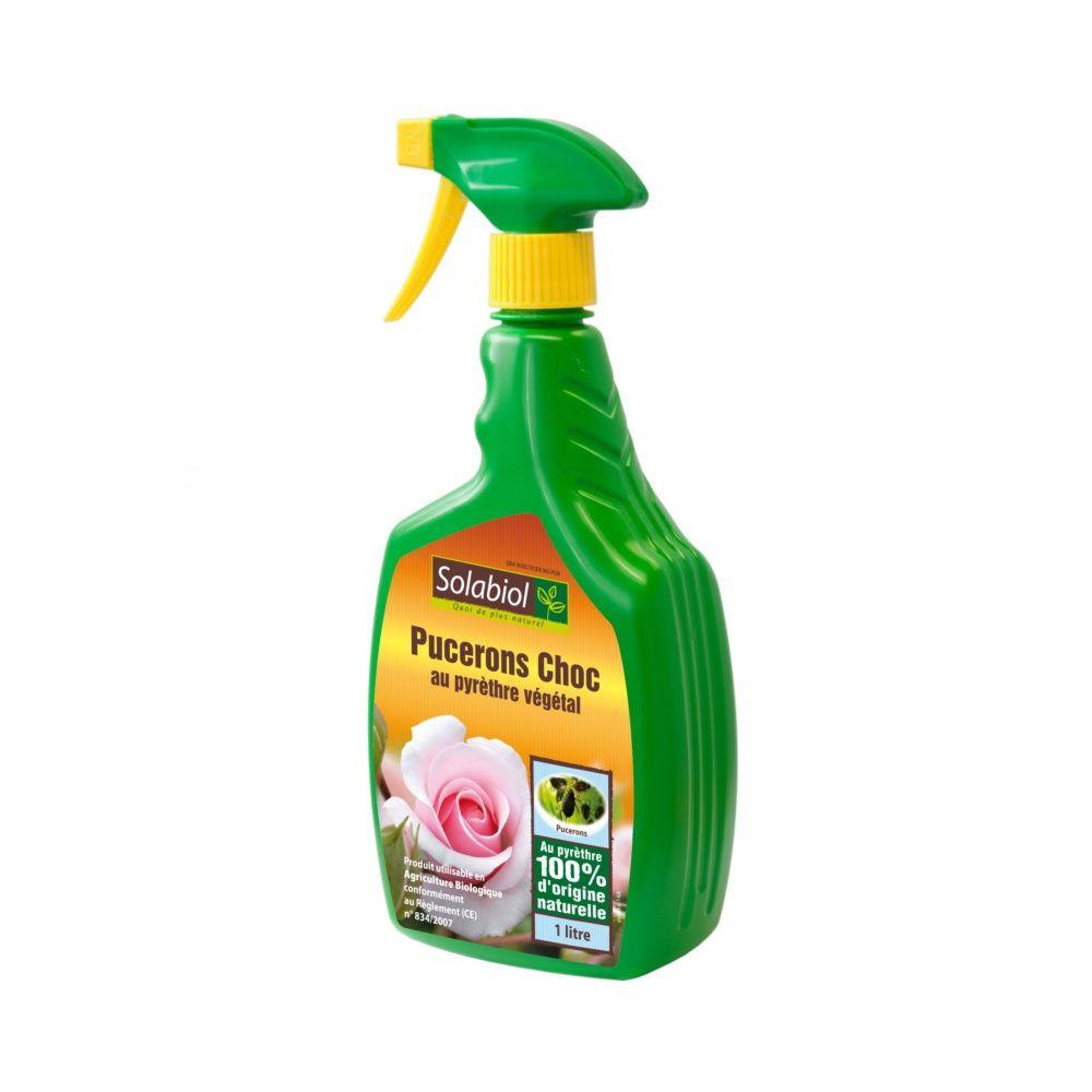 Insecticide contre le puceron pae 1 litre solabiol carton gamm vert - Produit contre les pucerons ...