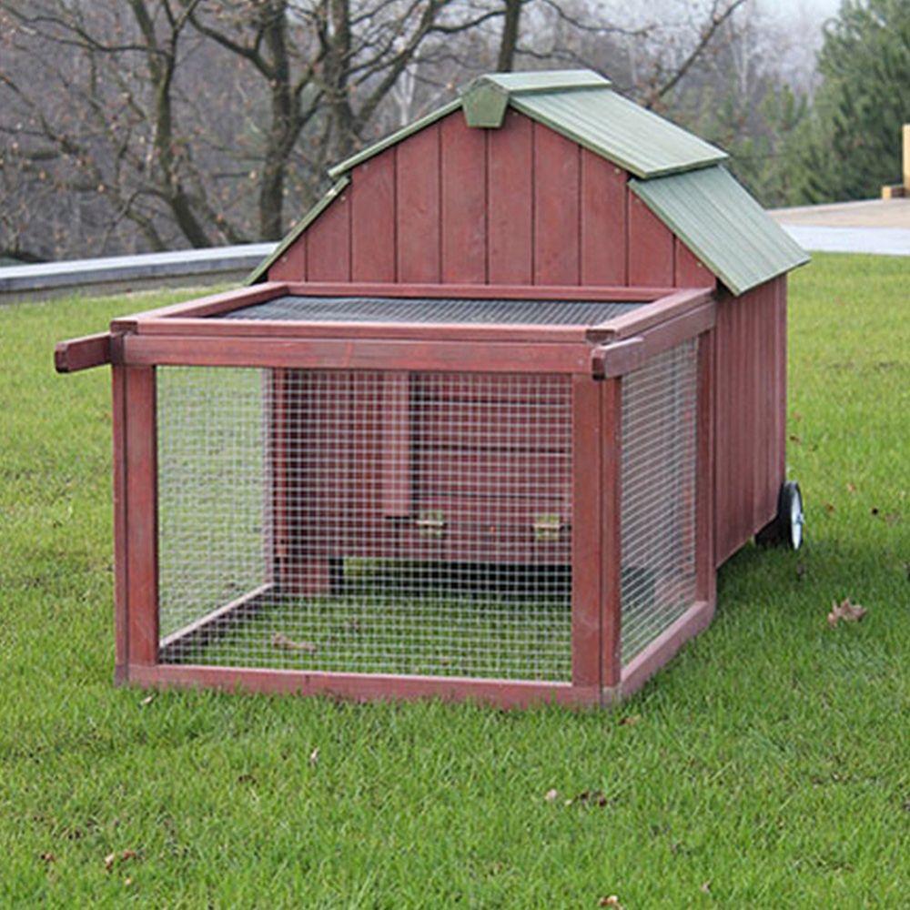 poulailler rolling america 2 3 poules carton gamm vert. Black Bedroom Furniture Sets. Home Design Ideas