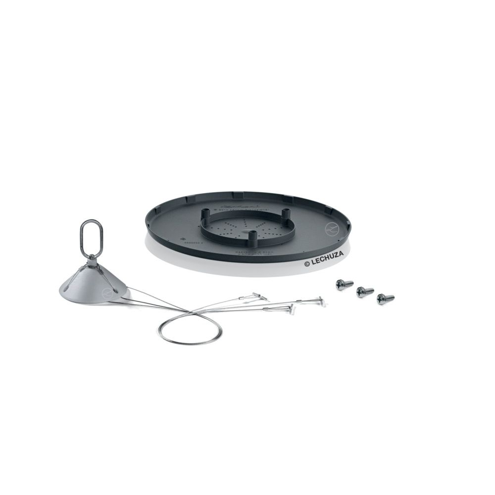 Kit de suspension Lechuza pour pot Cascadino gris