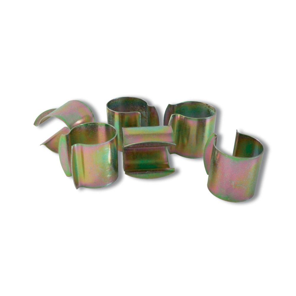 Sachets de 12 clips pour serres 40 mm