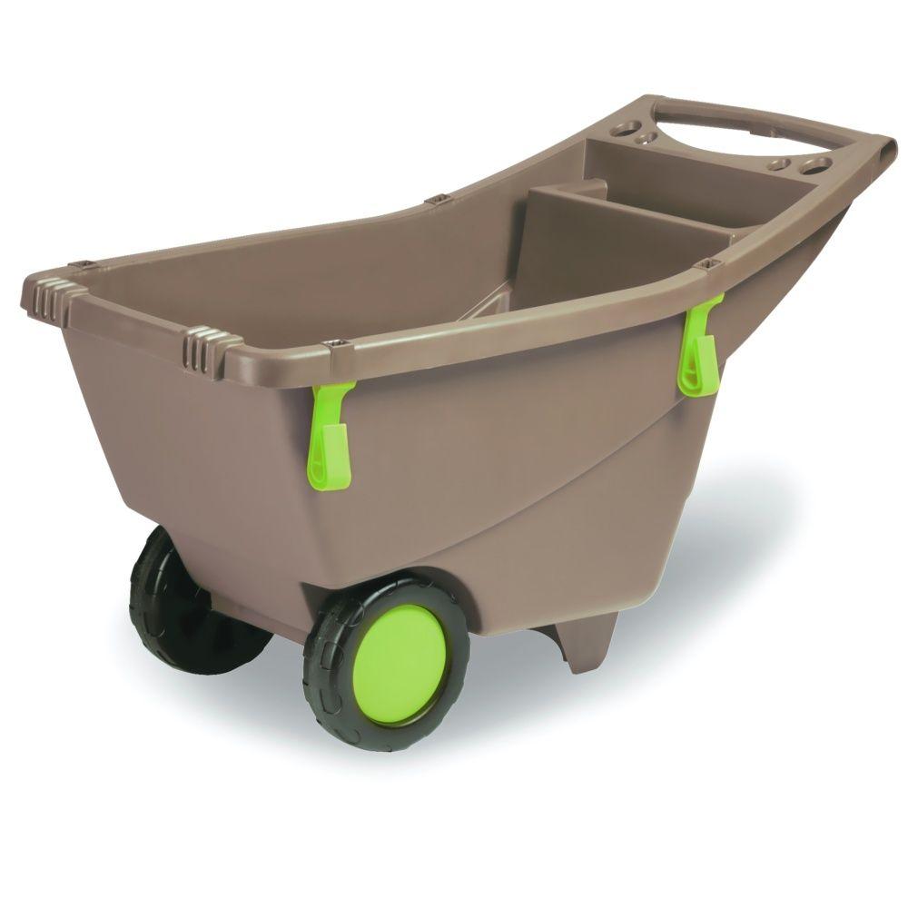 Brouette de jardin en plastique 8L - EDA Plastique carton - Gamm Vert