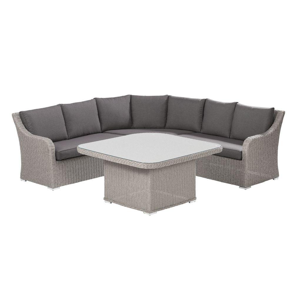 salon de jardin madrid kettler r sine canap d 39 angle table gamm vert. Black Bedroom Furniture Sets. Home Design Ideas