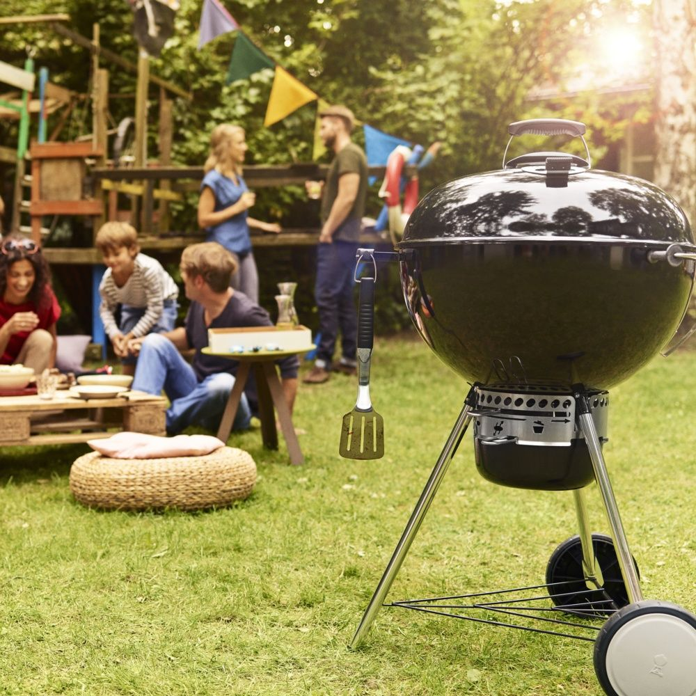 Barbecue charbon weber master touch 57 cm noir dimensions for Forum barbecue weber charbon