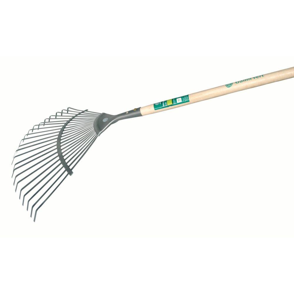 Balai gazon fil plat – Gamm vert
