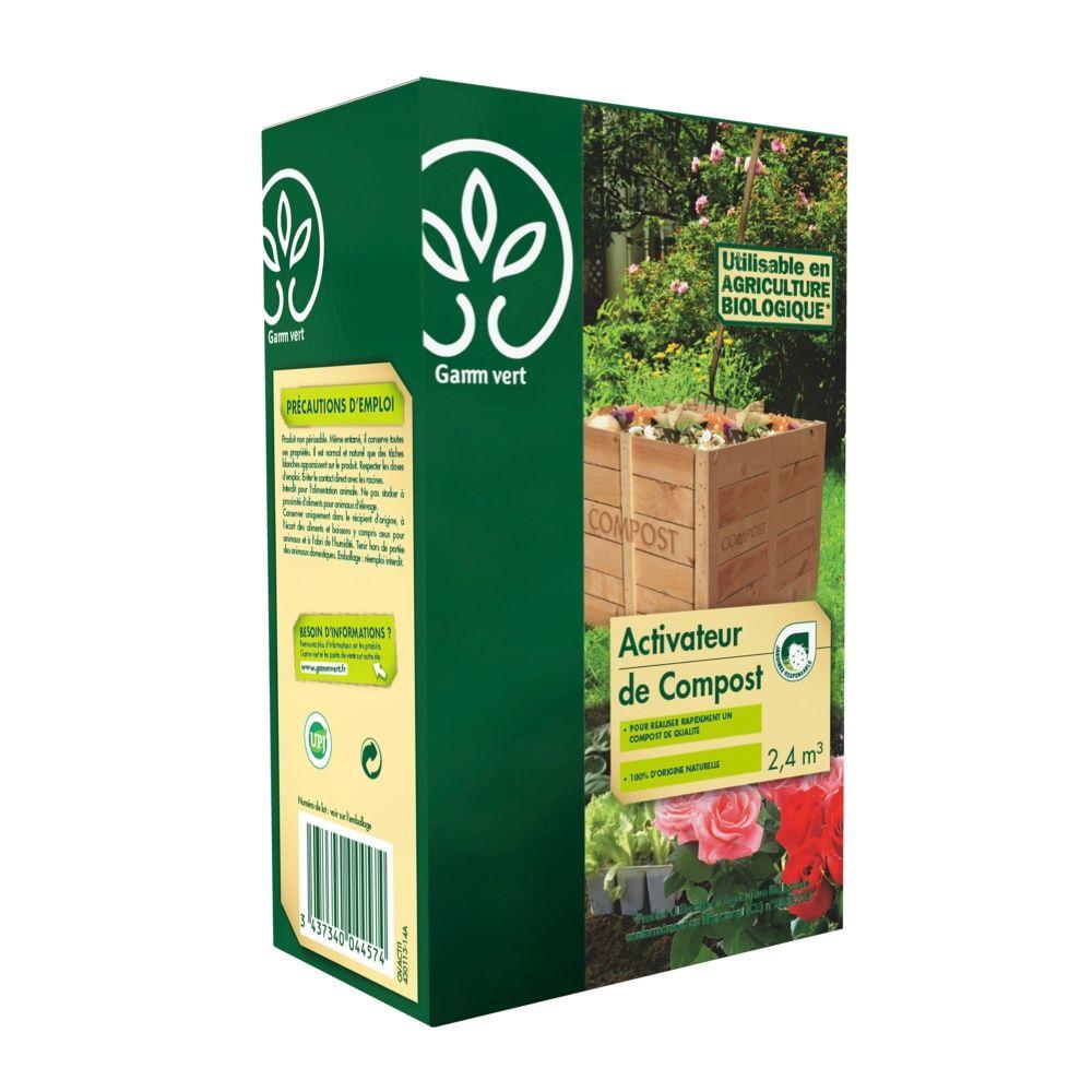 Activateur Compost Organique 1 Kg - Gamm vert boite de 1 Kg - Gamm Vert