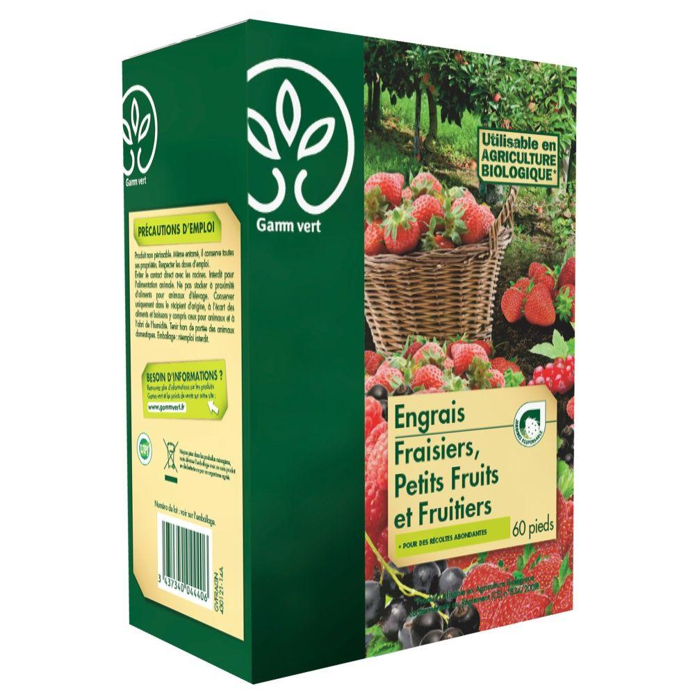 Engrais Fraisiers et Petits fruits 3Kg – Gamm Vert