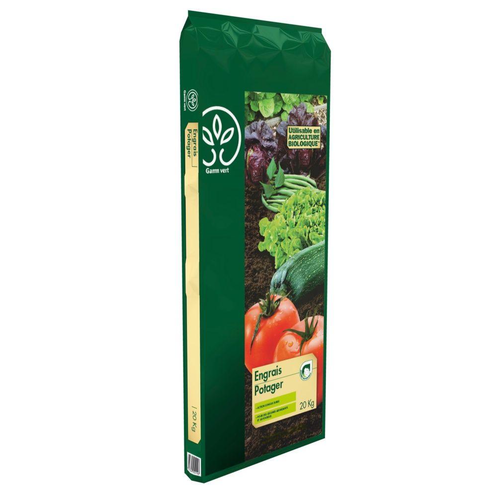 engrais potager 20 kg gamm vert sac de 20 kg gamm vert. Black Bedroom Furniture Sets. Home Design Ideas