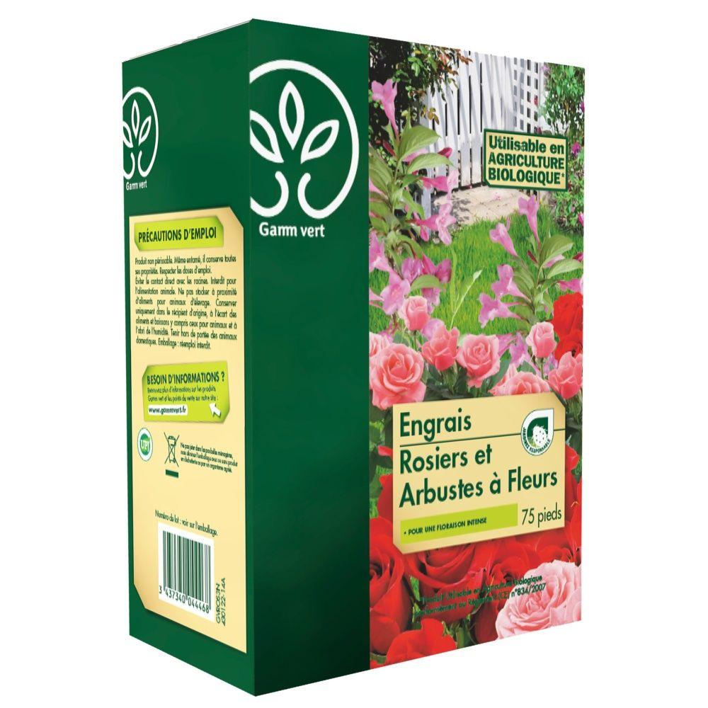 Engrais Rosier / Arbustes 3Kg – Gamm vert