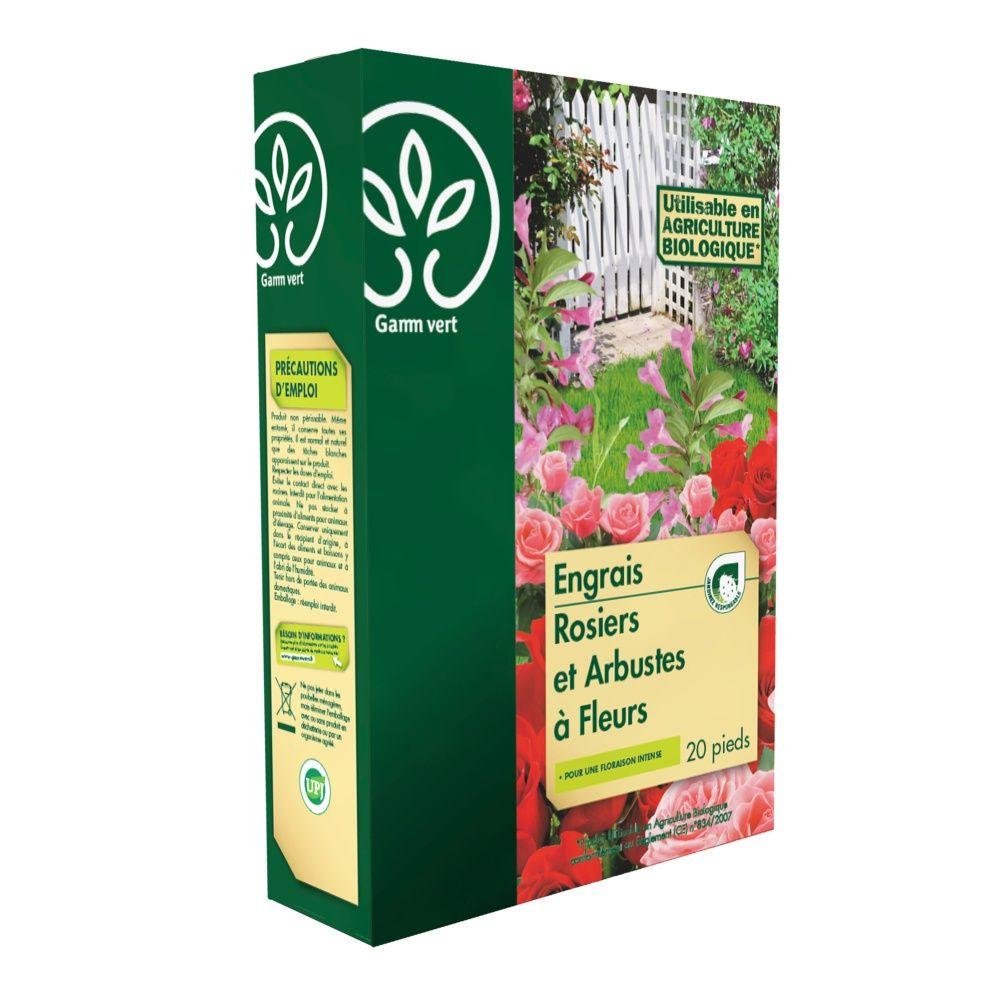 Engrais Rosier / Arbustes 800 g – Gamm vert
