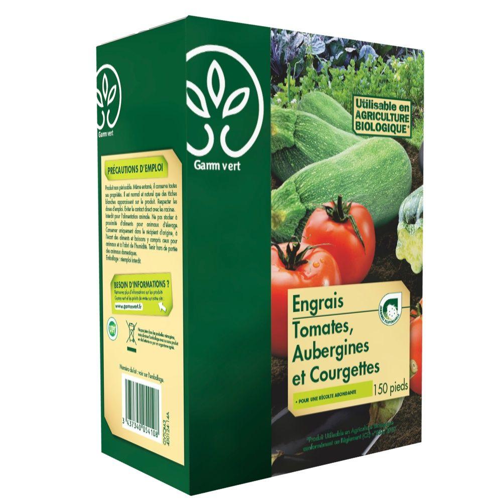 Engrais Tomates-aubergines-Courgettes 3 Kg - Gamm vert Sac de 3 Kg ... 9d474759cfe8