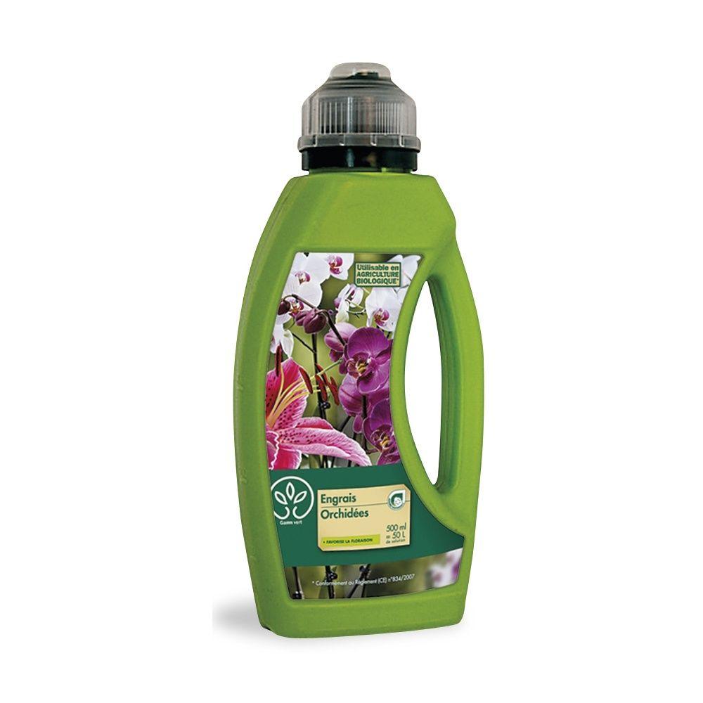 Engrais orchid es 500 ml gamm vert bidon de 500 ml - Engrais pour orchidee ...