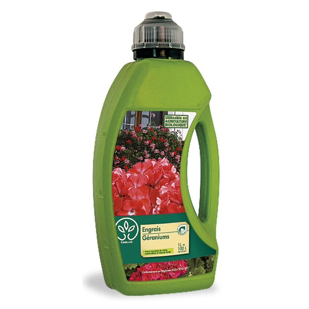 Engrais Géraniums 1L – Gamm vert