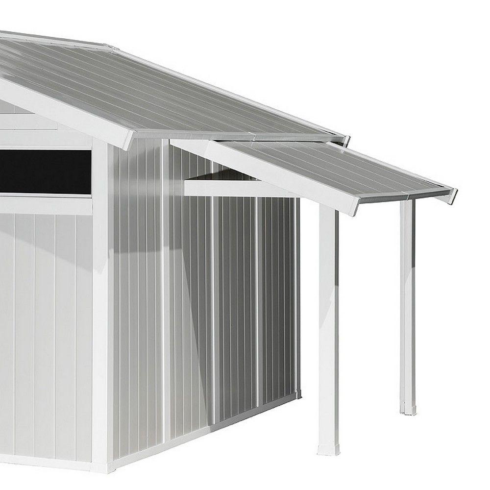 auvent pour abri de jardin en r sine grosfillex m 1 colis gamm vert. Black Bedroom Furniture Sets. Home Design Ideas