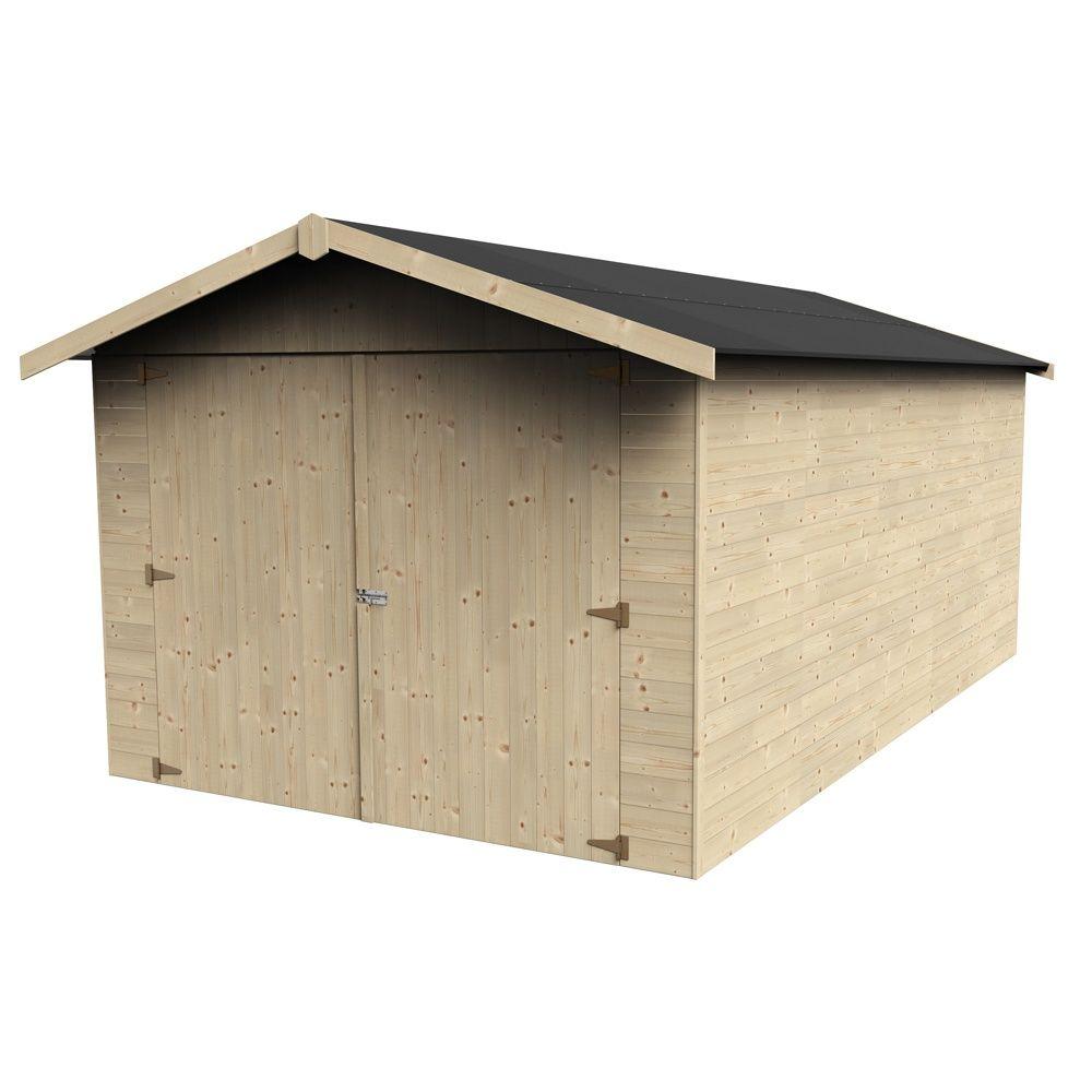 Garage bois garove 14 91 m ep 15 mm 1 palette l 230 x for Garage seguin 87