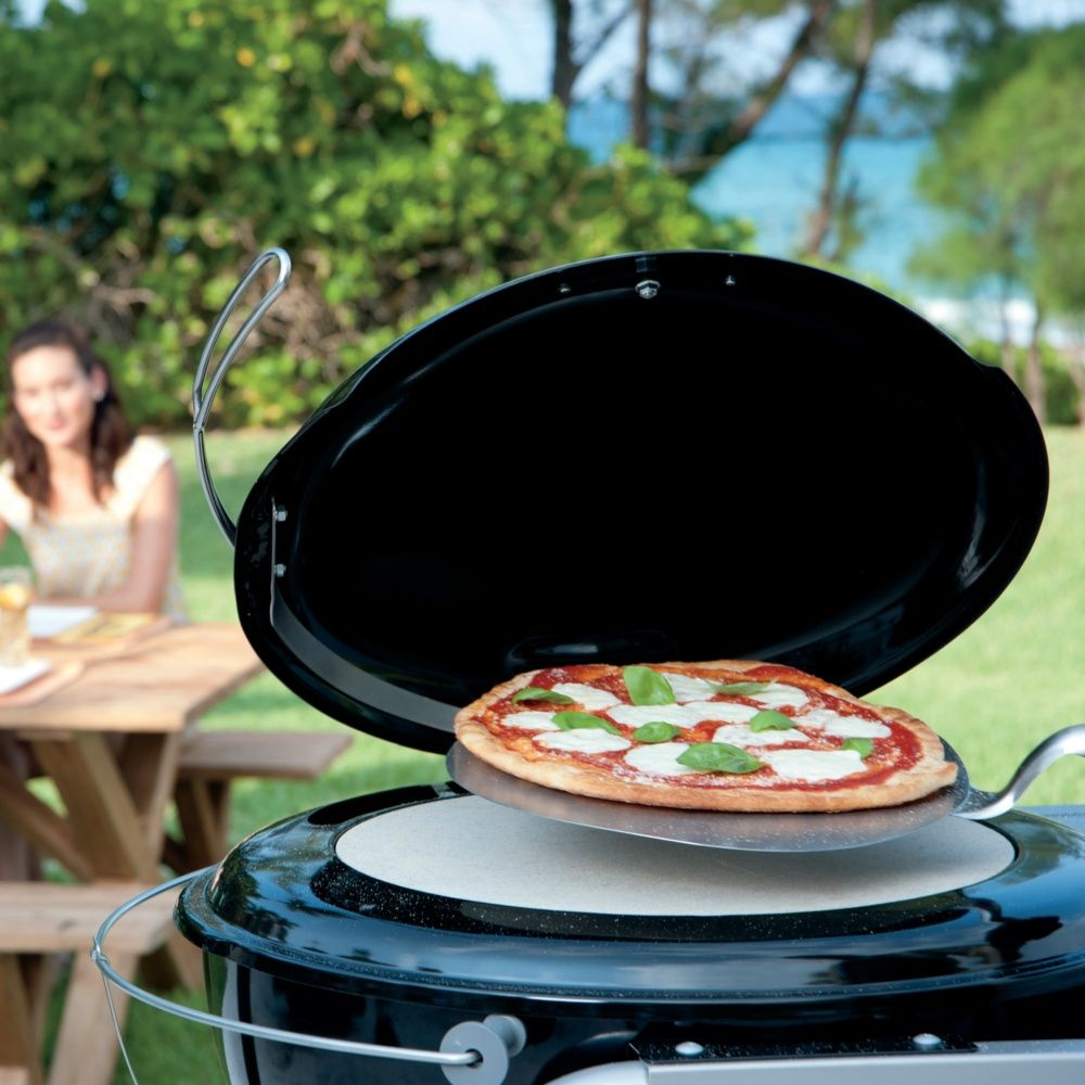 Four A Pizza Weber : four pizza weber pour barbecue 57 cm colis h30 x l70 x p70 cm gamm vert ~ Nature-et-papiers.com Idées de Décoration