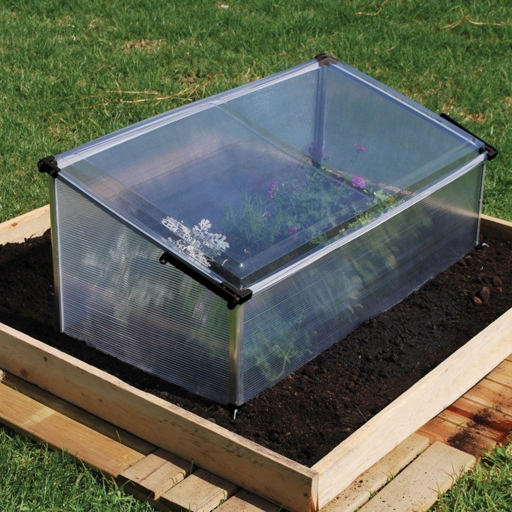 Serre ch ssis polycarbonate palram dimensions du colis lxpxh 105 x 56 x 6 cm gamm - Chassis de jardin en polycarbonate ...