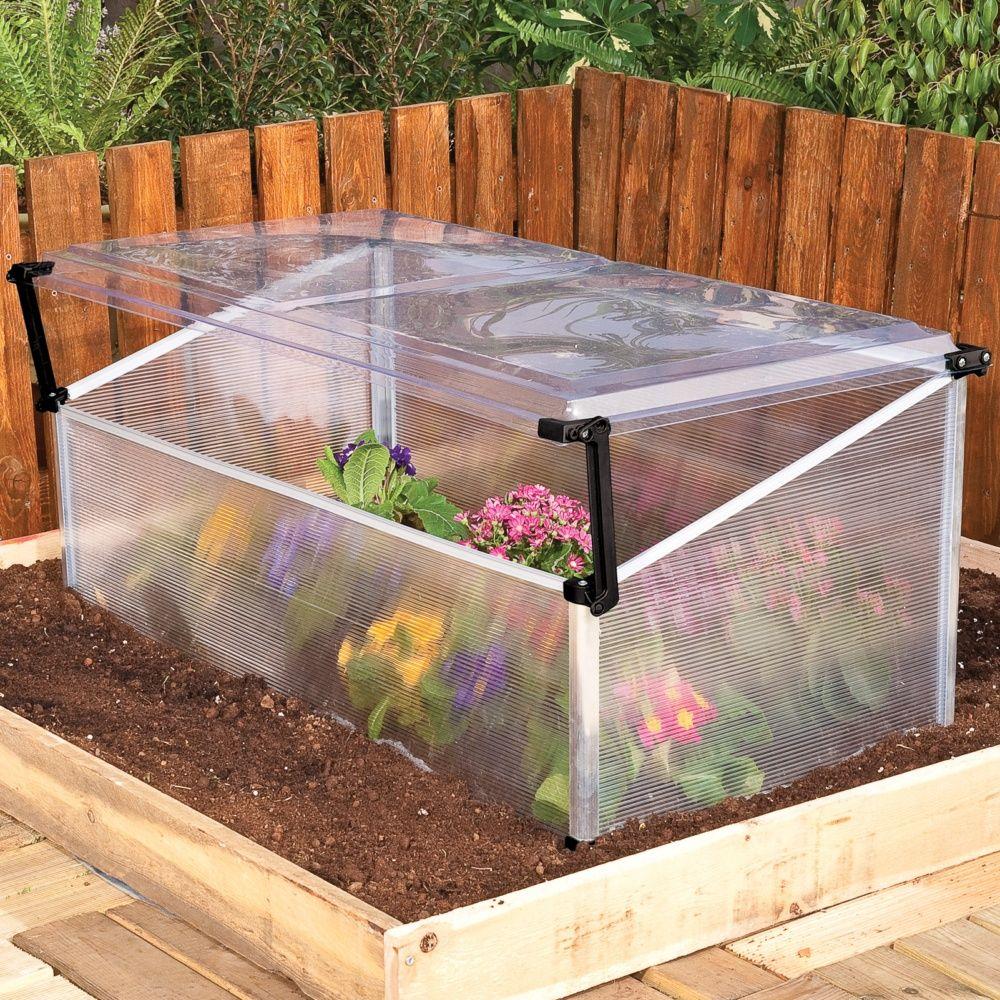 Serre ch ssis polycarbonate palram dimensions du - Chassis de jardin en polycarbonate ...
